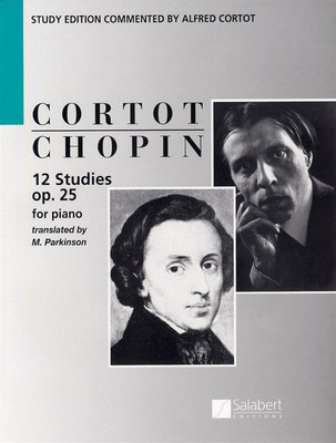 12 Studies Op. 25 - Frederic Chopin - Piano Salabert Editions Piano Solo
