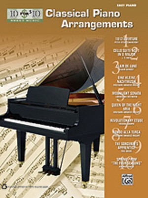 10 for 10 Sheet Music: Classical Piano Arrangements - Piano Alfred Music Easy Piano