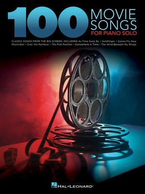 100 Movie Songs for Piano Solo - Various - Piano Hal Leonard Piano Solo
