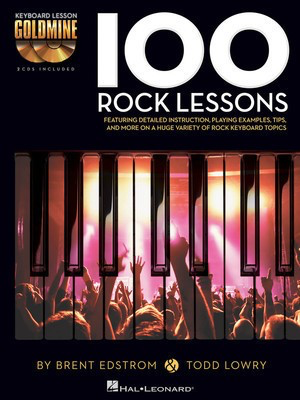 100 Rock Lessons - Keyboard Lesson Goldmine Series Book/2-CD Pack - Brent Edstrom|Todd Lowry Hal Leonard /CD