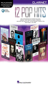 12 Pop Hits - Clarinet - Online Audio - Hal Leonard