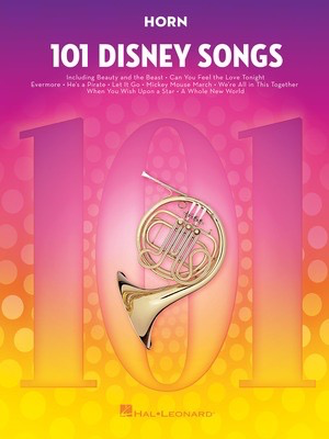 101 Disney Songs for French Horn - Hal Leonard
