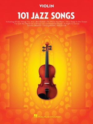 101 Jazz Songs for Violin - Various - Violin Hal Leonard