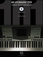 101 Keyboard Tips - Stuff All the Pros Know and Use - Keyboard Craig Weldon Hal Leonard /CD