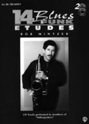 14 Blues & Funk Etudes - Bob Mintzer - Eb Instrument Alfred Music /CD