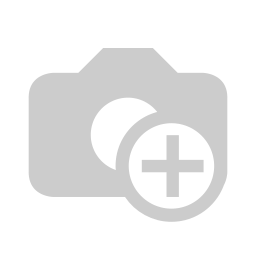 [70808625] Greeting Card - Merry Christmas - white bird sitting on a white branch with a black background with white notes.
