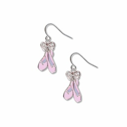 [70809931] Earrings - Pavlova's shoes - giclee print.