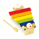 [708084169] Happy Xylophone. A colourful xylophone with happy figures holding it up.