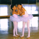 [7011621] ***WAS $2.95***POSTCARD 2 BALLERINAS IN PINK