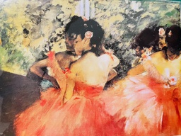 [708084363] ***WAS$5.95***Greeting Card -Edgar Degas - Dancers in pink. The Alternative Image Company