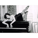 [7050512] Greeting Card - Woman On Piano. TICKLING THE IVORIES, 1920'S. THE ALTERNATIVE IMAGES COMPANY