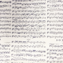[70525015] Wrapping Paper - Musical Score - 'Sonata' by Antionio Vivaldi.