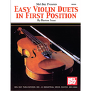 [S-MB93885] Easy Violin Duets in 1st Positions - Violin Duet by Isaac 34390
