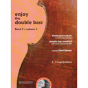 [S-M202523148] Enjoy the Double Bass Volume 2 - Double Bass/CD by Reinke Boosey & Hawkes
