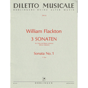 [S-DM-00062] Flacton - Sonata #1 in Cmaj - Viola/Piano Accompaniment Doblinger DM-00062