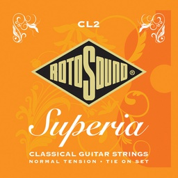 [N2-CL2] Classical Guitar Strings - Rotosound CL2 Superia Classical Tie on Set