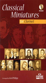 [S-F931-400] Classical Miniatures for Clarinet - Clarinet Gerd Philipp Fentone Music Clarinet Solo /CD