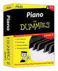 [S-FD09108] Piano For Dummies Level 2 Win/Mac - Piano eMedia CD-ROM