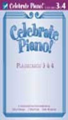 [S-FHM1350] Celebrate Piano! Flashcards 3 & 4 - Cathy Albergo|J. Mitzi Kolar|Mark Mrozinski - Piano Frederick Harris Music