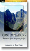 [S-FJH1394] Contemplations (Inspirational Hymn Arrangements for Organ) - Electronic Organ Rick Parks FJH Music Company Organ Solo
