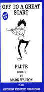 [S-FL001] Off to a Great Start for Flute Book 1 - Mark Walton - Flute Australian Wind Music Publications /CD