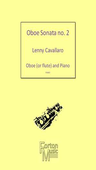 [S-FM490] 2nd Oboe Sonata - Oboe and Piano - Lenny Cavallaro - Oboe Forton Music