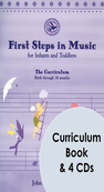 [S-G-5483] First Steps In Music Infants Toddlers Bk/4Cds -