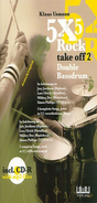 [S-GN290895] 5 x 5 Rock - Take Off 2 - Double Bassdrum - Drums Klaus Usmann AMA Verlag /CD-ROM
