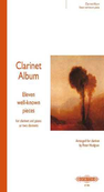 [S-H609A] Clarinet Album Bk 1 - for two clarinets and piano or two clarinets - Various - Clarinet Edition Peters