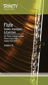 [S-TCL13392] Flute Scales, Arpeggios & Exercises - for Trinity College London Flute & Jazz Flute exams from 2015. - Trinity College London