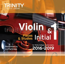 [S-TCL14894] Violin Exam Pieces Initial & Grade 1, 2016-2019 - CD - Various - Violin Trinity College London CD