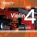 [S-TCL14924] Violin Exam Pieces Grade 4, 2016-2019 - CD - Various - Violin Trinity College London CD