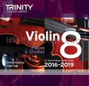 [S-TCL14962] Violin Exam Pieces Grade 8, 2016-2019 - CD - Various - Violin Trinity College London CD