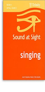 [S-TCL2716] Sound at Sight - Singing Book 1: Initial-Grade 2 - Sight reading pieces for Singing - Vocal Trinity College London
