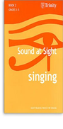 [S-TCL2723] Sound at Sight - Singing Book 2: Grades 3-5 - Sight reading pieces for Singing - Vocal Trinity College London