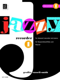 [S-UE18828] Jazzy Recorder 1 - for descant recorder and piano - Geoffry Russell-Smith - Descant Recorder Universal Edition