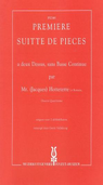 [S-XYZ641] Premiere Suite de Pieces - Jacques Hotteterre le Romain - Treble Recorder Recorder Duet