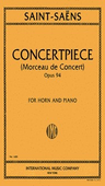 [S-IMC1489] Concertpiece, Op. 94 - for French Horn and Piano - Camille Saint-Saens - French Horn IMC