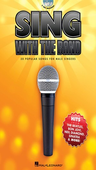 [S-1492] Sing with the Band - 30 Popular Songs for Male Singers - Book/2-CDs Pack - Vocal Hal Leonard Melody Line, Lyrics & Chords /CD
