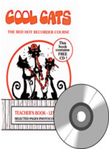 [S-10106] COOL CATS The Red Hot Recorder Course - Level 1 Teacher Book - Jeff Mead - Recorder Bushfire Press /CD