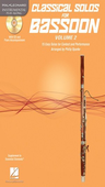 [S-121137] Classical Solos for Bassoon, Vol. 2 - 15 Easy Solos for Contest and Performance - Bassoon Philip Sparke Hal Leonard Bassoon Solo /CD