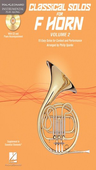 [S-121144] Classical Solos for F Horn, Vol. 2 - 15 Easy Solos for Contest and Performance - French Horn Philip Sparke Hal Leonard French Horn Solo /CD