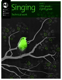 [S-1203096739] Singing Technical Work - Level 2 Fifth Grade - Eighth Grade - Classical Vocal|Vocal AMEB