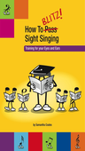 [S-BSS1] How to Blitz Sight Singing Book 1 - Coates Samantha - Blitz Books