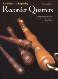 [S-CH61696] PITTS RECORDER QUARTETS SCORE - PITTS J - Chester