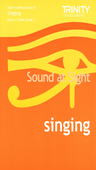 [S-TCL002716] Trinity - Sound At Sight Singing Book 1 Initial-Grade 2 - Trinity College London