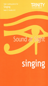 [S-TCL002730] Trinity - Sound At Sight Singing Book 3 Grade 6-8 - Trinity College London