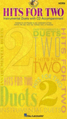 [S-841597] Hits for Two - F Horn - Various - French Horn Hal Leonard /CD