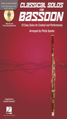 [S-842544] Classical Solos for Bassoon - 15 Easy Solos for Contest and Performance - Bassoon Philip Sparke Hal Leonard /CD