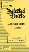 [S-4471000] Selected Duets for French Horn - Volume 1 - Easy to Medium - French Horn Rubank Publications French Horn Duet